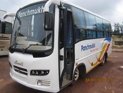 21 Seater Bus Hire -18 seat van for rent Bangalore