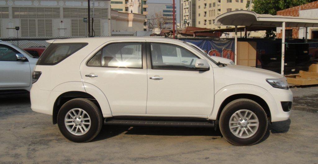 Hire Toyota Fortuner Car Rentals Bangalore