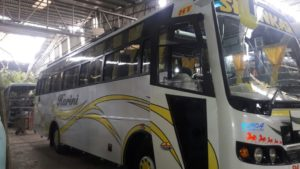 Bus Rental - 50 seater Coach Hire Bangalore