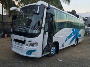 20 seater minibus hire in bangalore