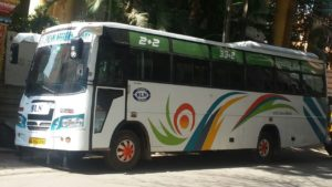 Bus Rental 50 seater Coach Hire Bangalore