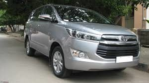 innova crysta for rent in bangalore outstation