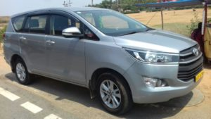 innova Crysta for rent in bangalore
